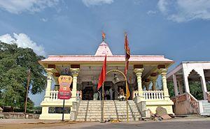 Kal Bhairav temple, Ujjain - Image: Kal Bhairav temple Ujjain