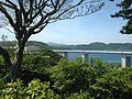Kameura Bridge and Shimadajima Island near Ochaen Observation Deck in Naruto Park 2.jpg