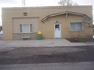 Kanosh, Utah - Kanosh town hall