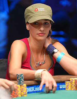 Kara Scott at the 2008 World Series of Poker