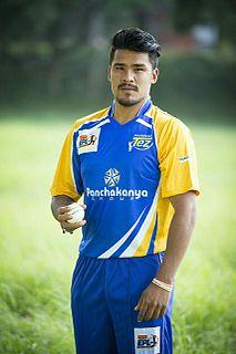 Karan KC Nepalese cricketer