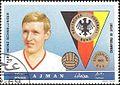 Karl-Heinz Schnellinger 1969 Ajman stamp.jpg