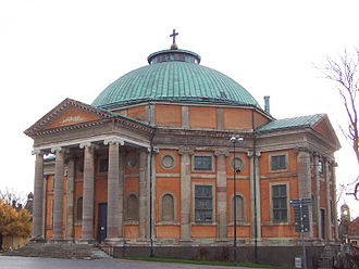 Nicodemus Tessin the Younger - Holy Trinity Church in Karlskrona.