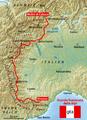 Karte Grande Traversata delle Alpi.png