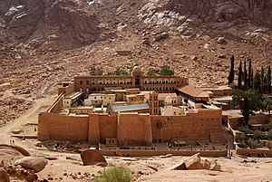 Geography of Egypt - Mount Catherine in Sinai, Egypt's highest point.