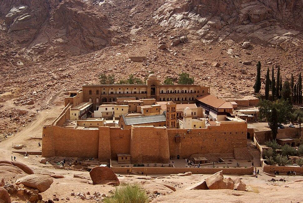Katharinenkloster Sinai BW 2