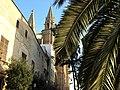 Kathedrale von Palma -Palme und Türme - panoramio.jpg