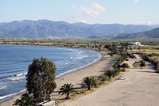 Kato Vervena beach, Arcadia, Greece