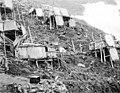 Kauwerak cliff dwellings on King Island in the Bering Sea, Alaska, between 1903 and 1908 (AL+CA 6366).jpg