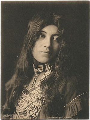 Caddo - Kaw-u-tz, photographed in 1906
