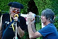 Keef Trouble and Mike Dobie, Jolly Tanners in Staplefield, West Sussex 02.jpg