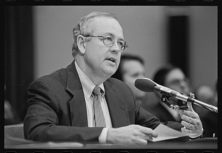 Ken Starr testifying before the House Judiciary Committee.