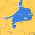 Keswick, Ontario map.png