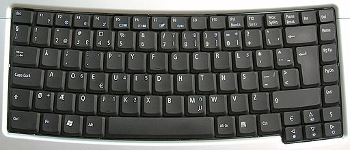 Keyboard-Dvorak-norwegian