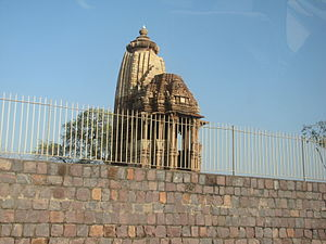 Chaturbhuj Temple (Khajuraho) - Image: Khajuraho India, Chaturbhuj Temple, Photographed 10 03 2012