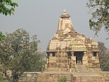 Khajuraho India, Devi Jagadambi Temple - Full View.jpg