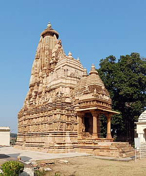 Parshvanath temple, Khajuraho, India.