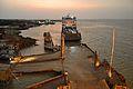 Khan Jahan Ali - IMO 8700917 - Inland RORO Cargo Ship - Daulatdia Ferry Jetty - River Padma - Rajbari 2015-05-29 1412.JPG
