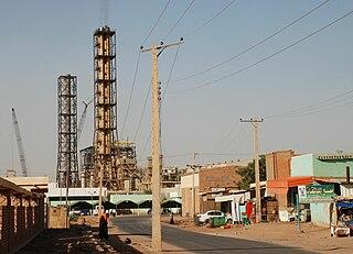 Neighborhood in Sudan
