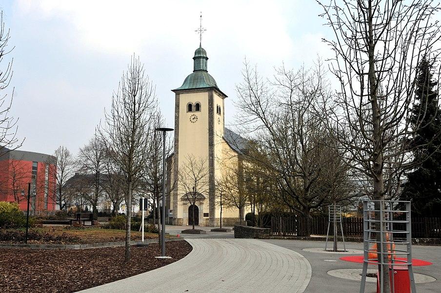 D'Kierch zu Sandweiler.