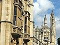 King's College pinnacles - geograph.org.uk - 2049990.jpg