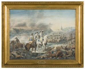 King Gustav II Adolf of Sweden at Wittstock