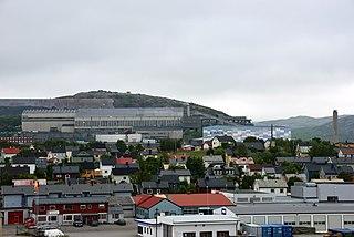 Kirkenes Town in Northern Norway, Norway