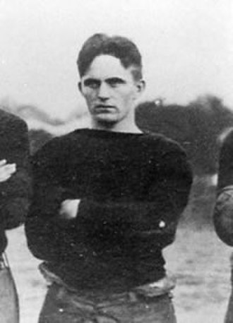 1913 College Football All-Southern Team - Kirk Newell of Auburn.