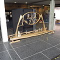 Kiruna city hall Sami sculpture.JPG