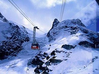 Klein Matterhorn - Image: Klein Matterhorn edit