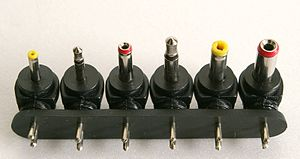 Coaxial power connector - Some common DC power connectors