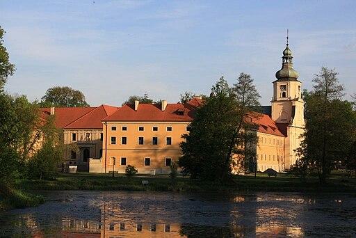 Kloster Rauden - Nordfassade