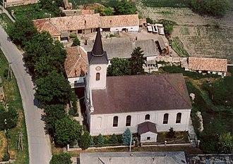 Kocs - Image: Kocs légifotó2