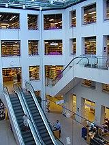 Koebenhavns Hovedbibliotek midterparti
