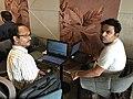 KolMeetAug18-Amitabha Gupta & Rajeeb Dutta 02.jpg