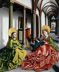 Saint Catherine and Mary Magdalene