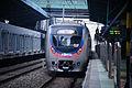 Korail Line 1 Yeongdeungpo-Gwangmyeong shuttle train at Sindorim.jpg