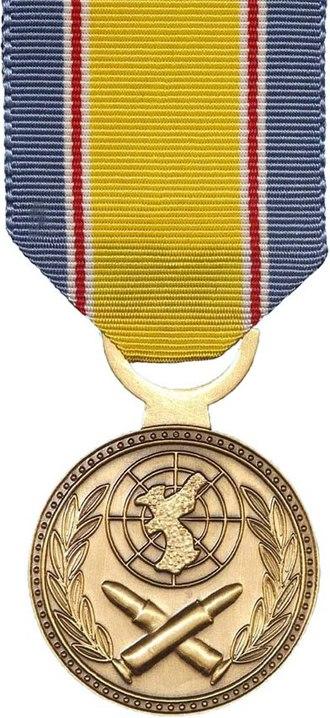 Korean War Service Medal - Image: Korean W Serv Med
