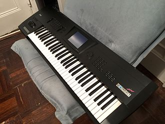 Korg Trinity - Korg Trinity PLUS (Special Black Edition)---Produced only for the Japanese Market.
