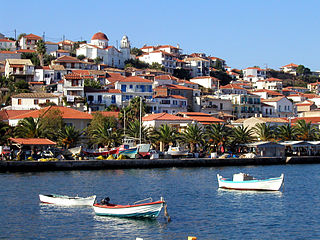 Koroni Place in Greece