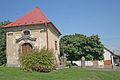 Kostel svatého Jiljí ve Chvalkovicích - kaple sv. Jana Nepomuckého.JPG