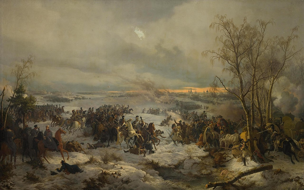 «Сражение под Красным». Петер фон Гесс