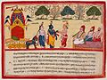 Krishna and Balarama Arrive in the Forest, Folio from a Bhagavata Purana (Ancient Stories of the Lord) LACMA M.79.51.jpg