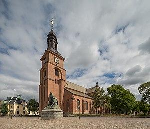 Kristine Church, Falun - Image: Kristine kyrka July 2017 07