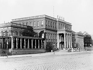 National Gallery (Berlin) - Late 19th-century view of the Crown Prince's Palace, which became the National Gallery's annexe for modern art in 1919