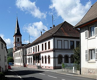 Kruth - The town hall