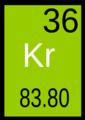 Krypton tavola periodica.png