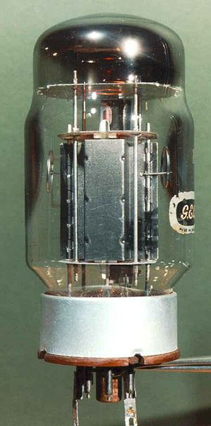 KT88 - KT88 labelled G.E.C. made by GEC/MOV in the U.K.