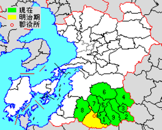 Kuma District, Kumamoto district of Japan