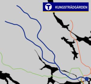 Kungsträdgården metro station - Image: Kungsträdgården Tunnelbana